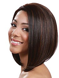 Fashion Sexy Women Straight Hair Short Wig Brown Color Cosplay Synthetic Wig