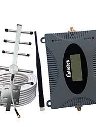 cheap -LCD Display GSM 900Mhz Mobile Phone Cellular Signal Booster GSM 900 Signal Repeater Cell Phone Amplifier 3G Signal Set For Airtel/Beeline/Digicel/MTN