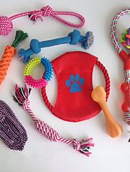 Недорогие -Игрушка для котов Игрушка для собак Игрушки для животных Игрушки Милый стиль Портативные Складной Веревка Регулируется Простая установка