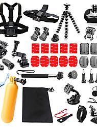 Недорогие -Для Экшн камера Gopro 6 Все Gopro 5 Xiaomi Camera Gopro 4 Black Спорт DV SJCAM SJ4000 SJ5000 SJCAM SJ7000 Катание на лыжах Пешеходный