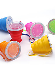 cheap -Travel Mug / Cup / Water Bottle Foldable Travel Drink & Eat Ware Silica Gel 9*8/4.5cm cm