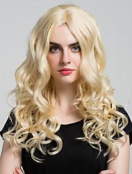 Capelli ricci elegantemente lunghi di parrucche di capelli umane di alta qualità