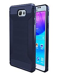 economico -Custodia Per Samsung Galaxy J7 Prime J5 Prime Resistente agli urti Custodia posteriore Tinta unica Morbido TPU per On7(2016) On5(2016) J7
