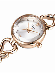 Women's Fashion Watch Quartz Water Resistant / Water Proof Alloy Band Silver Gold