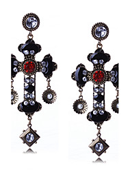 cheap -Women's Drop Earrings Dangle Earrings Rhinestone Basic Unique Design Dangling Style Pendant Tassel Geometric Personalized Religious