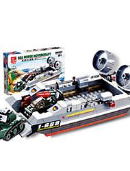 Blocos de Construir Brinquedos Quadrada Pato Barco de Guerra Peças Unisexo Rapazes Dom