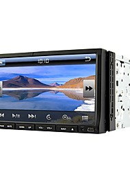 Runrgace 2din 7'' Slide Down HD Touch Screen Universal Car DVD Player with GPS/Bluetooth/Radio RL-203WGN02