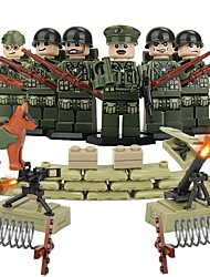 cheap -DILONG Building Blocks Block Minifigures Educational Toy Warrior Military Unisex Toy Gift