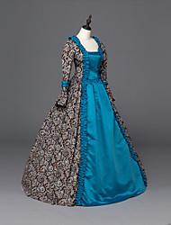 Steampunk® Renaissance Georgian Gothic Brocade Dress Gown Steampunk Fashion Reenactment Clothing