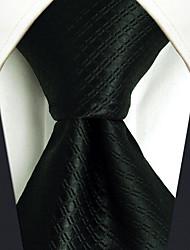 Masculino Vintage Festa Trabalho Casual Escritório/Negócio Alta qualidade Fashion Seda Todas as Estações Gravata,Sólido