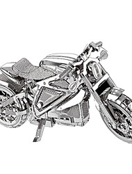 cheap -3D Puzzles Metal Puzzles Model Building Kits Toys Motorcycle 3D Furnishing Articles Chrome Metal Not Specified Pieces