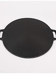 1piece /38cm cast iron pan Flapjack nonstick pan grains Spring rolls