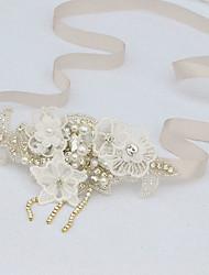 Yuxiying  Wedding  Wrist Corsages Hand-made Bracelet  Hand Lace Pearl Bracelet