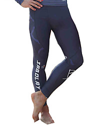 cheap -SABOLAY Men's Quick Dry Sun Protection Elastane Terylene Diving Suit Dive Skin Leggings - Surfing All Seasons Solid