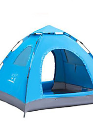 3-4 Pessoas Tenda Único Barraca de acampamento Tenda Automática Manter Quente para Acampar e Caminhar Chifre de Boi CM