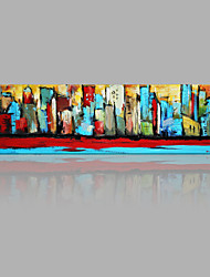 cheap -Hand-Painted Abstract Canvas Oil Painting Home Decoration One Panel