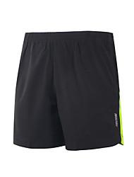 Shorts de running Secado rápido Materiales Ligeros Bandas Reflectantes Reduce la Irritación Shorts/Malla corta Prendas de abajo para Yoga