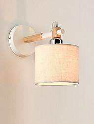 cheap -Fabric Wall Light Modern/Contemporary FeatureAmbient Light Wall Sconces