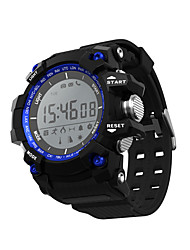 cheap -Smart Watch Water Resistant / Water Proof Calories Burned Pedometers Exercise Record Camera Distance Tracking Information APP Control