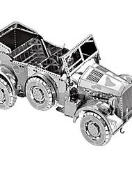 abordables -Puzzles 3D Puzzles en Métal Kit de Maquette Automatique 3D Articles d'ameublement Chrome Métal Unisexe Cadeau