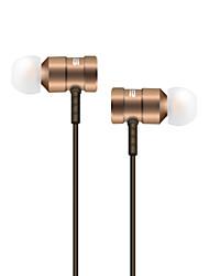 La pressa sa609 trasduttore auricolare di 3.5mm con il microfono un orecchio del grano collega la cuffia del gioco