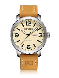 Hombre Reloj de Moda Reloj de Pulsera Reloj Deportivo Reloj de Vestir Reloj Esqueleto Reloj elegante Chino Cuarzo Resistente a los Golpes