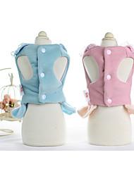abordables -Chien Robe Vêtements pour Chien Soirée Princesse Fuchsia Rose Bleu clair Arc-en-ciel Costume Pour les animaux domestiques