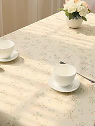chiffons de table frais imprimés floraux, style frais de mélange de coton