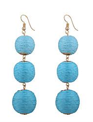 cheap -Women's Drop Earrings - Personalized, Bohemian, Fashion Fuchsia / Red / Blue For Wedding / Anniversary / Housewarming