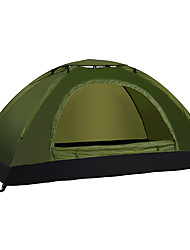 LINGNIU® 1 person Tent Single Camping Tent One Room Fold Tent Waterproof Thermal / Warm Ultra Light (UL) for Oxford Fabric CM