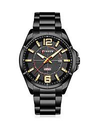 cheap -Men's Quartz Wrist Watch Smartwatch Military Watch Skeleton Watch Sport Watch Chinese Calendar / date / day Water Resistant / Water Proof