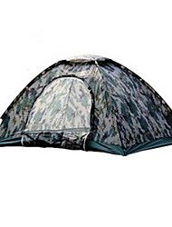 cheap -TUOBING® 2 persons Others Single Camping Tent Fold Tent Warm Waterproof Rain-Proof for Canvas CM