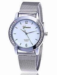 cheap -Women's Ladies' Fashion Watch Wrist watch Dress Watch Chinese Quartz Alloy Band Charm Casual Elegant Silver