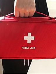 1Pcs   230X130X75Mm Outdoor First Aid Emergency Medical Kit Survival Bag Wrap Gear Hunt Travel Storage Bag Medicine Kit  Random Color