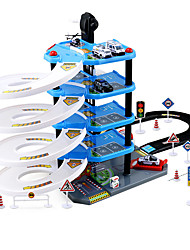 cheap -Toy Cars Marble Track Set Toys 3D Plastics Wood High Quality Pieces Children's Boys' Children's Day Gift