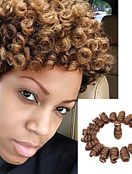 Bouncy Curl kenzie curls kanekalon crochet braids 10inch Braiding Curls 20strands/pack Kinky Twisted Freetress synthetic curly Braiding hair extension