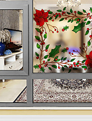 Window Film Window Decals Style Creative Fashion Christmas Dull Polish PVC Window Film