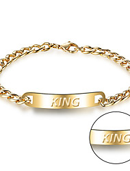 cheap -Korean fashion jewelry titanium cast stainless steel bracelet men's personality