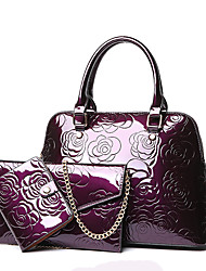 cheap -Women's Bags PU Bag Set 3 Pcs Purse Set for Event/Party All Seasons Blue Gold Black Purple