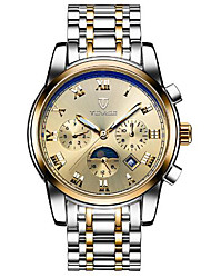 levne -Tevise Pánské Dámské Pro páry mechanické hodinky Hodinky s lebkou Módní hodinky Sportovní hodinky Automatické natahování Kalendář