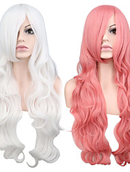 Cosplay Halloween Party Wig Heat Resistant Long Curly Synthetic Wigs