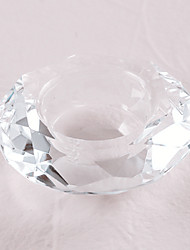 Crystal Candle Holder Table Decors\ Beautiful Practical Favors
