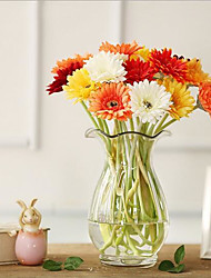 cheap -10 Branches/Groups Of Colorful African Chrysanthemum Imitation Flowers/Idyllic Imitation Flowers/Home Decoration Flowers