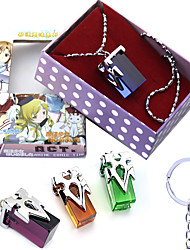 cheap -Anime Action Inspired by Sword Art Online Kirito Key Doll Toy Necklace 4PCS