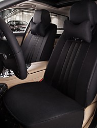 Car Seat Cushion Car Seat Cover Family Car Silk Fabric Materials Used In Four Seasons Of--Black