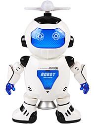 Недорогие -Робот Обучающая игрушка Игрушки Танцы Электрический Smart умный Машина Робот Пластик Куски Для детей Подарок