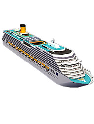 cheap -3D Puzzles Paper Craft Square Ship 3D Simulation DIY Hard Card Paper Unisex Gift