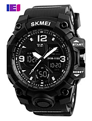 baratos -Homens Digital Relogio digital Relógio de Pulso Relógio inteligente Relógio Esportivo Chinês Calendário Mostrador Grande Silicone Banda