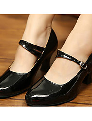 economico -Per donna Scarpe per danza moderna Vernice / PU (Poliuretano) Tacchi Scarpe da ballo Oro / Nero / Rosso / Da allenamento