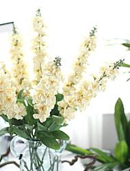 1 Ast Kunststoff Lila Tisch-Blumen Künstliche Blumen